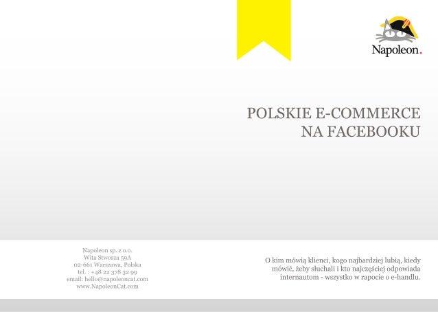 Raport e-commerce na Facebooku