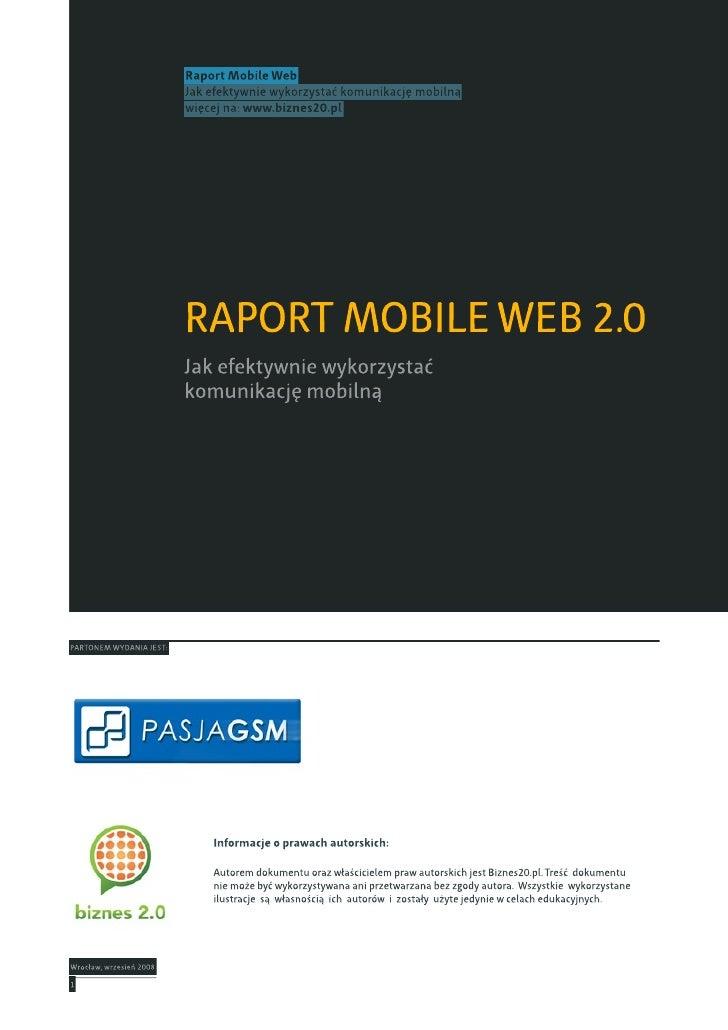 Raport Mobile 2