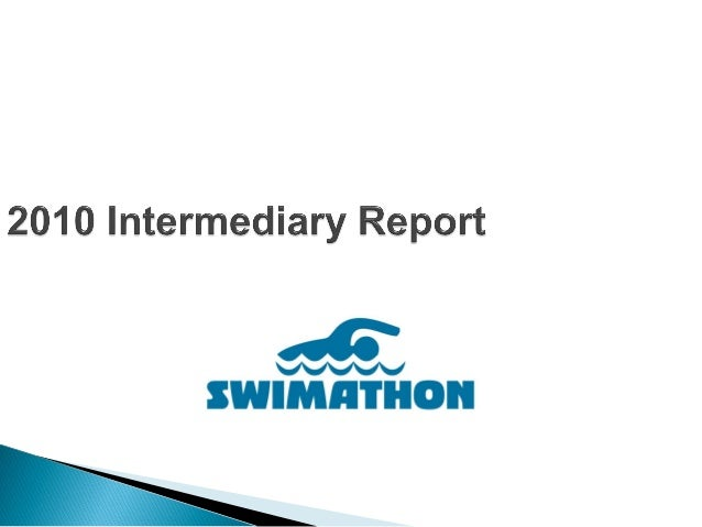 The Swimathon means swimming for the community causes. It also means creative campaigns and also involving one's partners ...