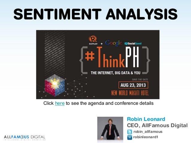 #ThinkPH Social Media Sentiment Analysis