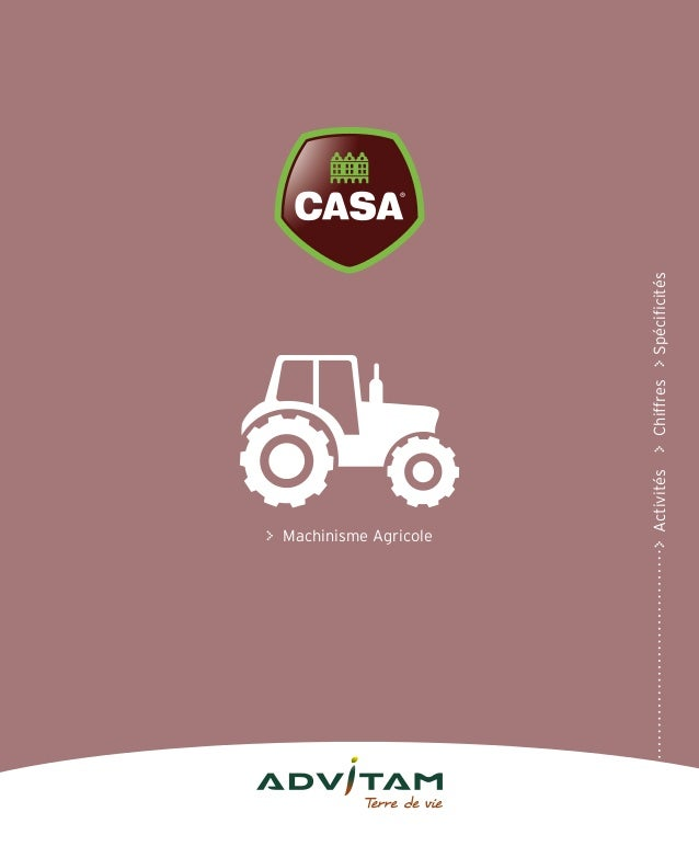 y Machinisme Agricole yActivitésyChiffresySpécificités