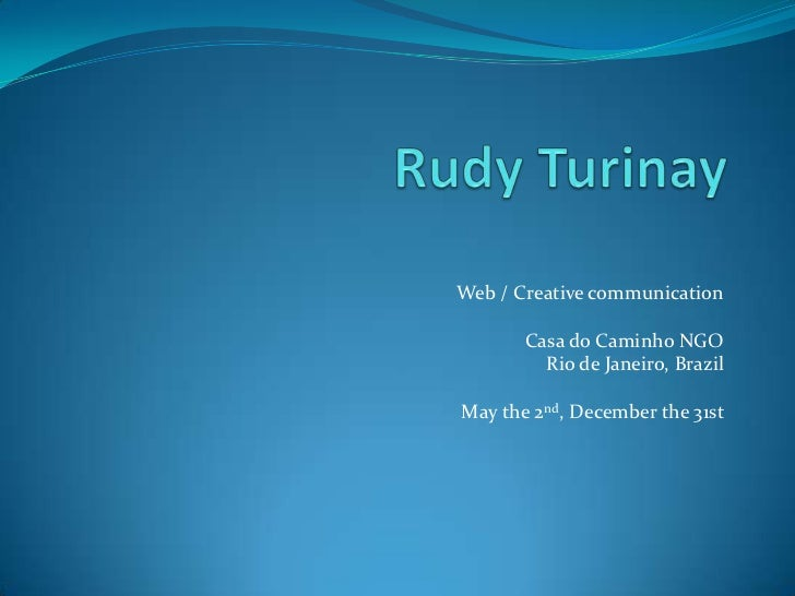 Rapport stage - Rudy Turinay - Euromed Management