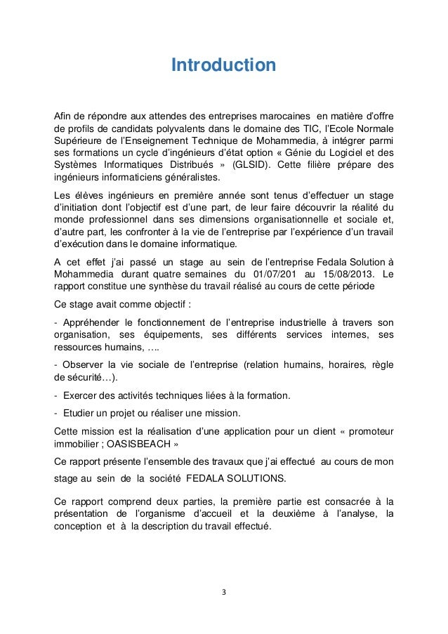 Exemple conclusion rapport de stage bac for Rapport de stage en cuisine exemple