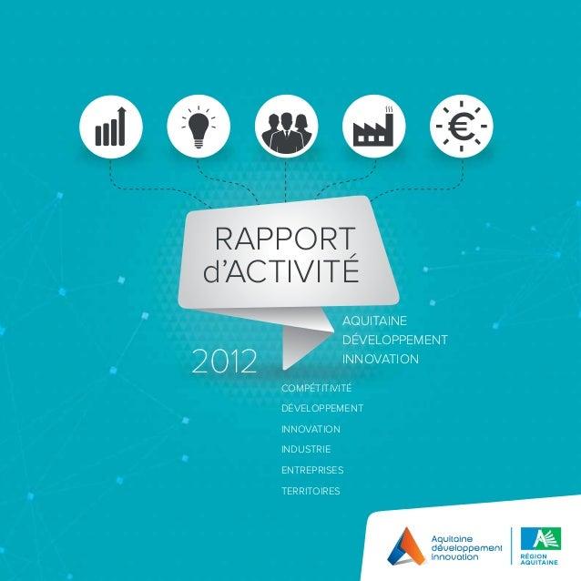 Rapport adi 2012