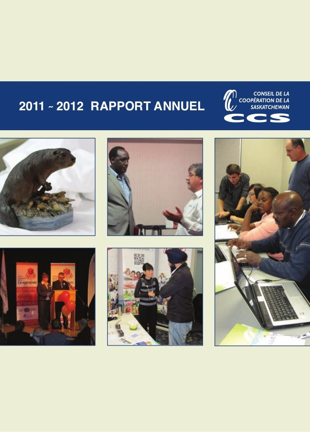 2011 ˜ 2012 RAPPORT ANNUEL
