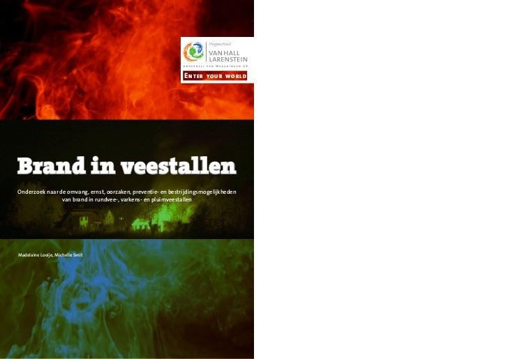 Rapport brand in_veestallen