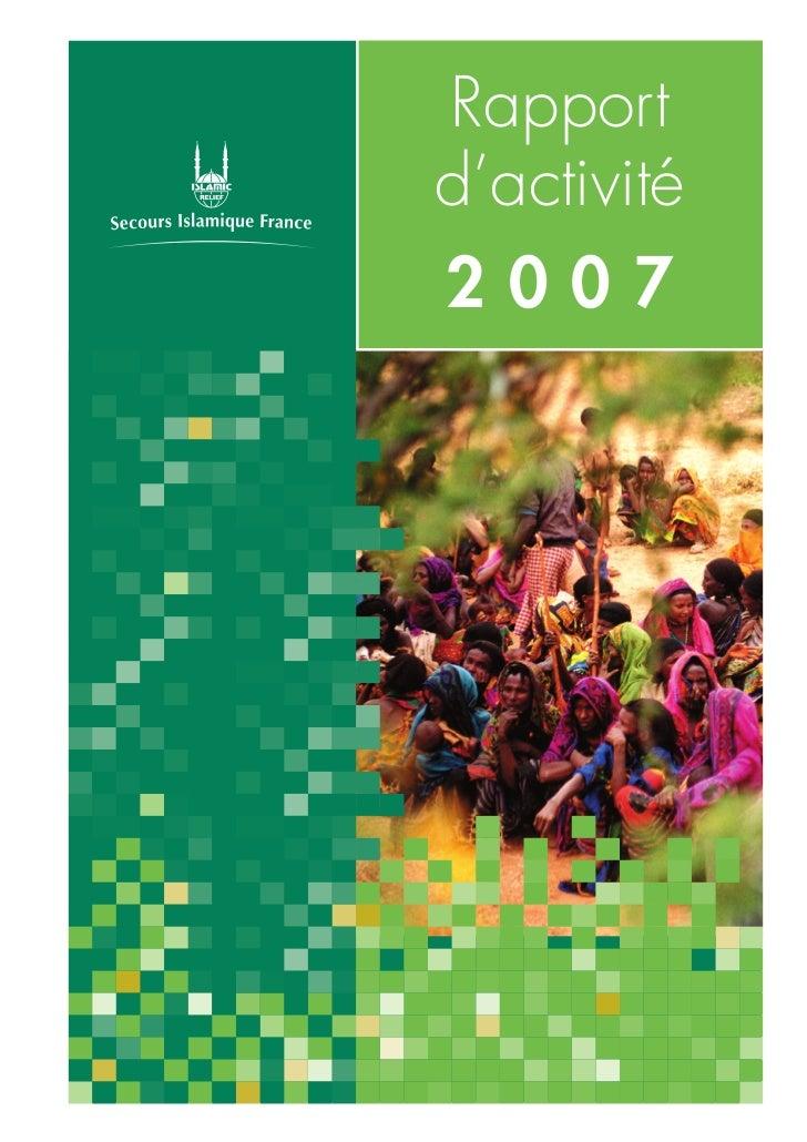 Rapportd'activité2007