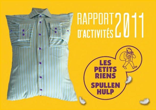 Rapport d'activités petits riens 2011