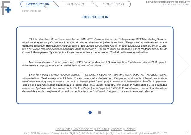 Modele rapport de stage juridique document online for Rapport de stage en cuisine exemple