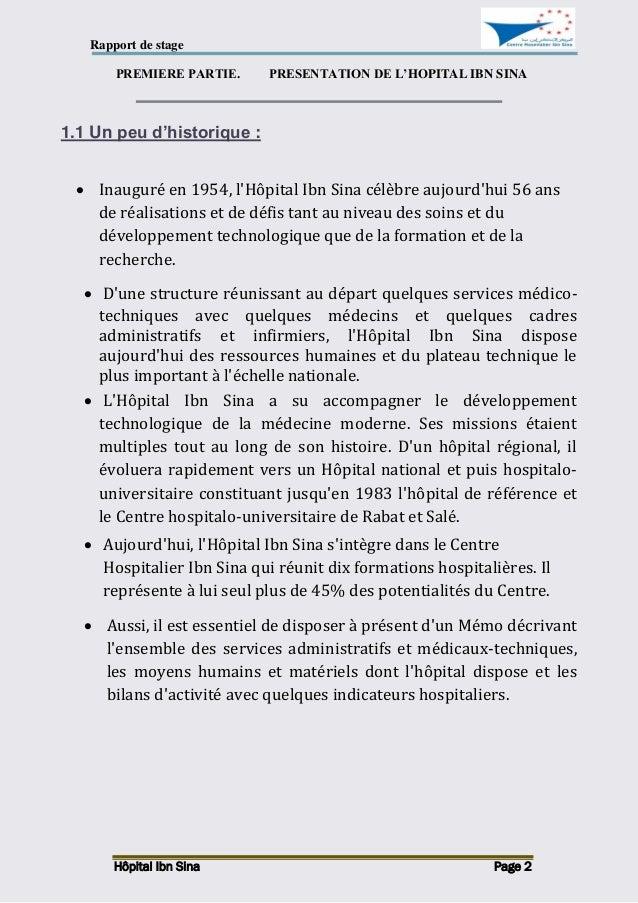 exemple d un rapport de stage pdf