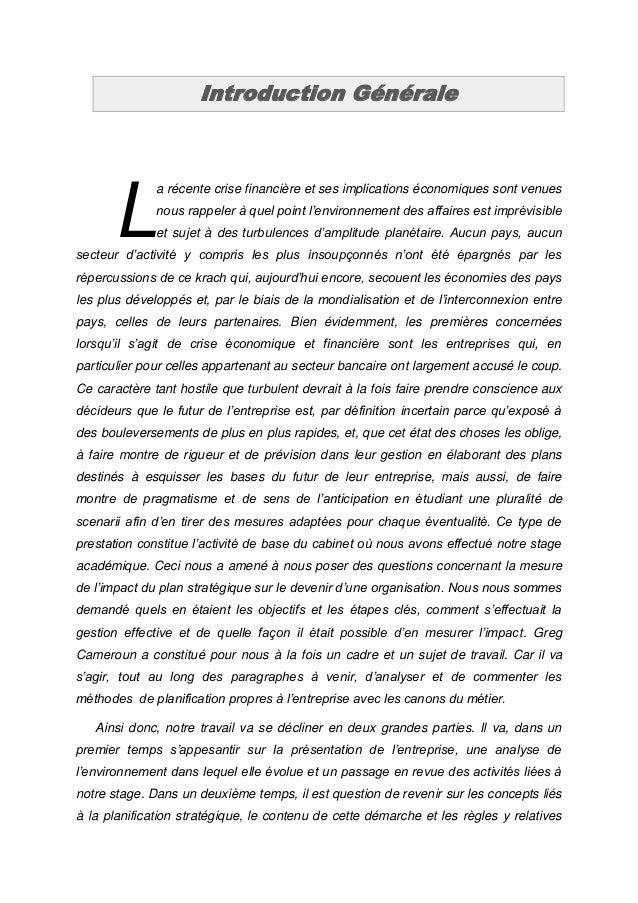 Introduction Générale      L              a récente crise financière et ses implications économiques sont venues          ...