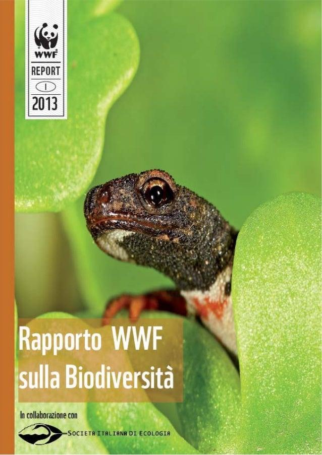 WWF Italia: il primo rapporto sulla Biodiversità 3 - 12 - 2013