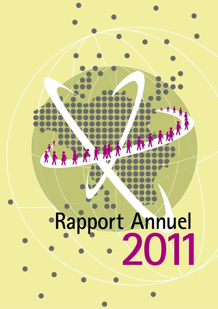 Le rapport annuel 2011 de l' ONEM