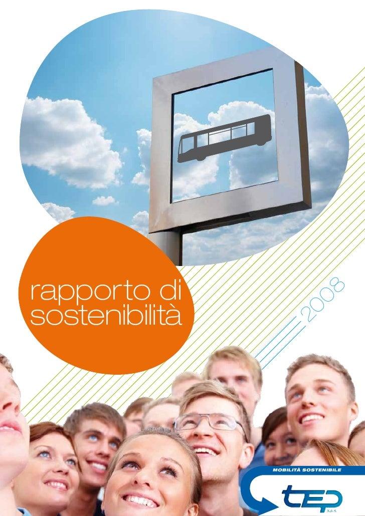 rapporto di                        0     8 sostenibilità                     20                     MOBILITÀ SOSTENIBILE  ...
