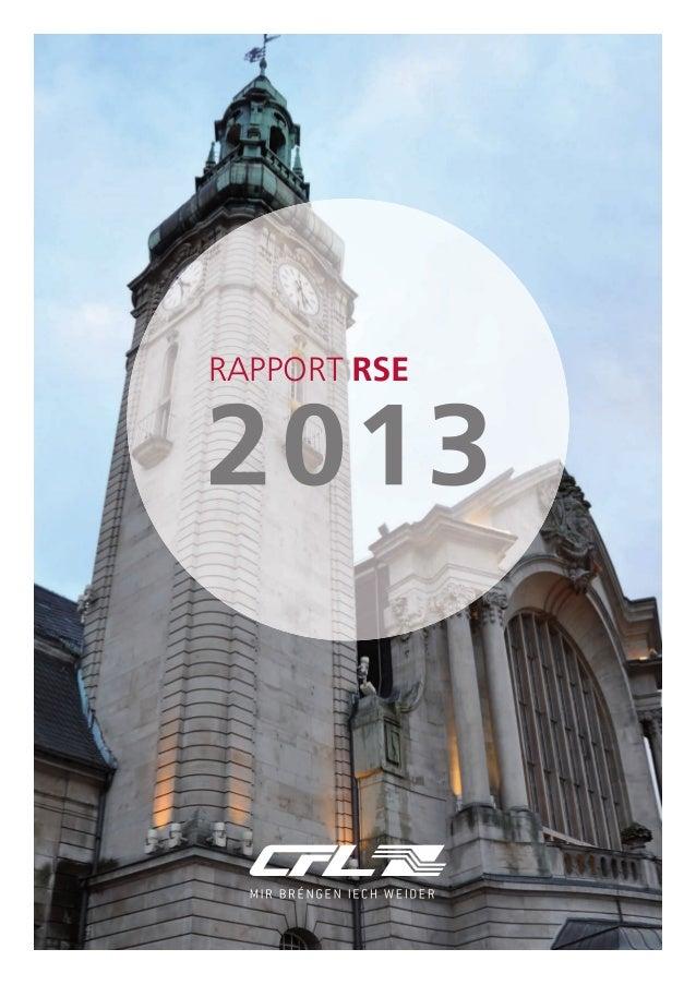 CSR Bericht (frz.)