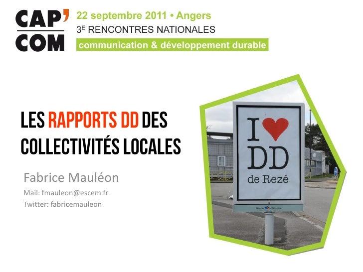 Fabrice MauléonMail: fmauleon@escem.frTwitter: fabricemauleon