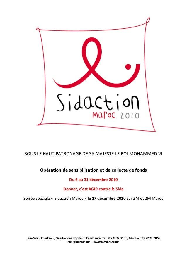 Rapport de la campagne Sidaction Maroc 2010
