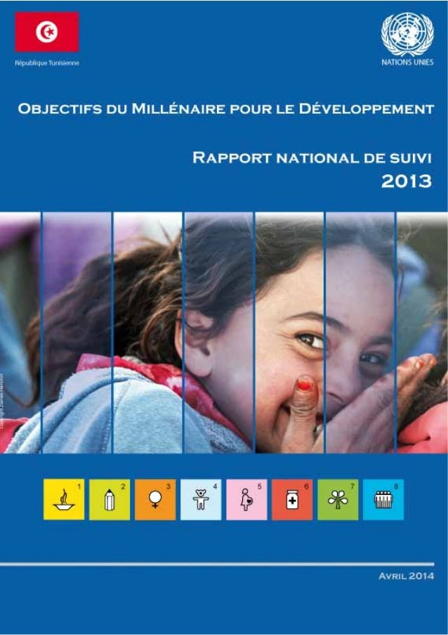 OMD - Tunisie Rapport national de suivi 20132 OMD - Tunisie Rapport national de suivi 20133