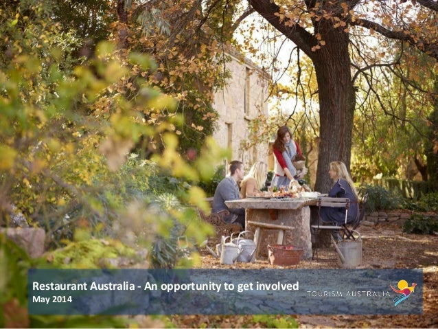 Restaurant Australia - an opportunity to get involved