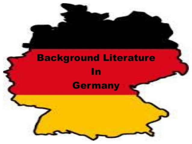 Background LiteratureInGermany