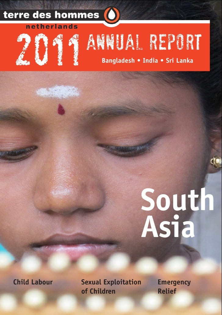 Regional Annual Report South Asia 2011