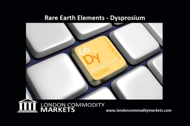 Rare Earth Investments - Dysprosium