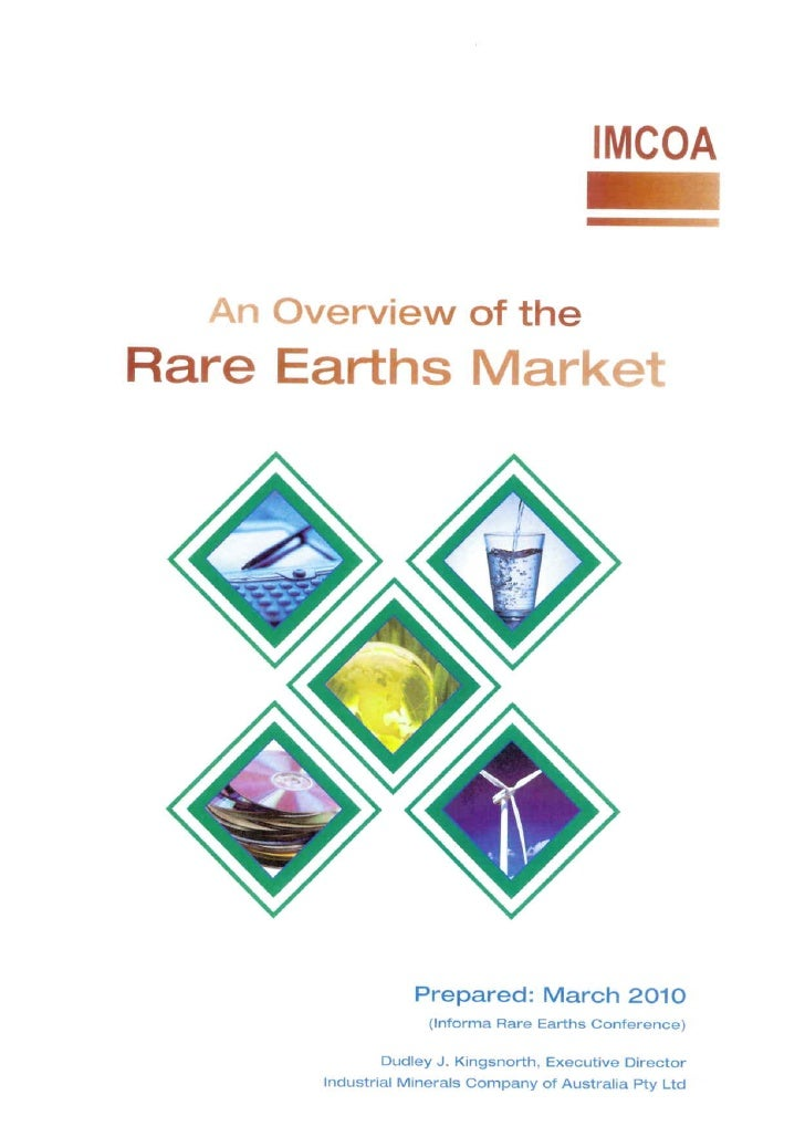 An Overview of the Rare Earths Market