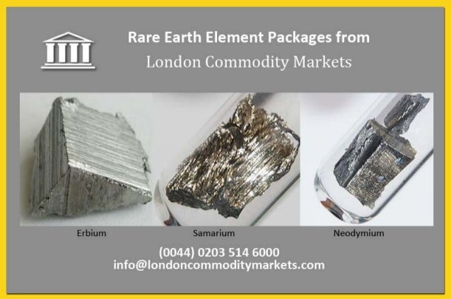 Rare earth investments   medical package