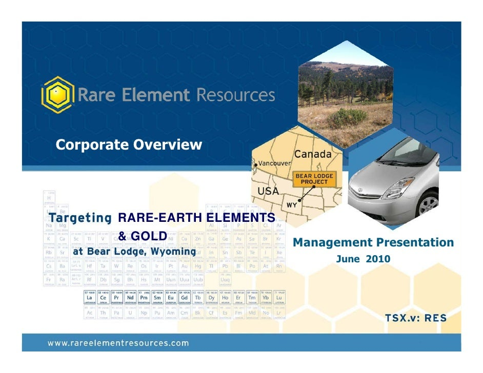 Rare Element Resources - June 2010