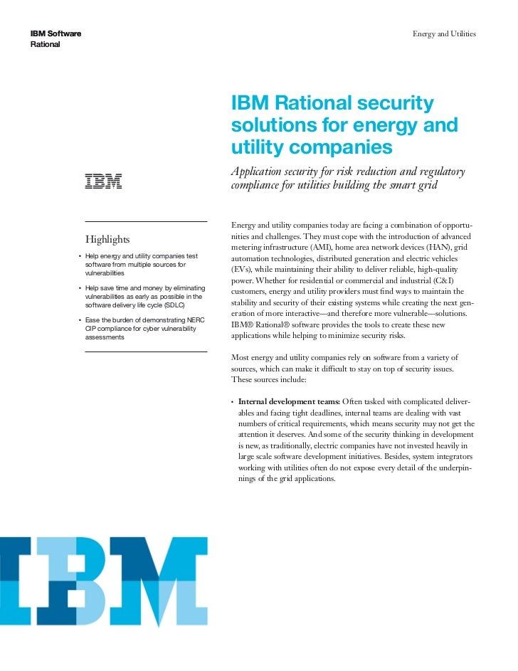 Application security for risk reduction and regulatory compliance for utilities building the smart grid