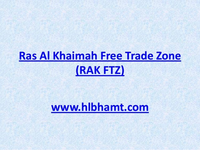 Ras al khaimah free trade zone