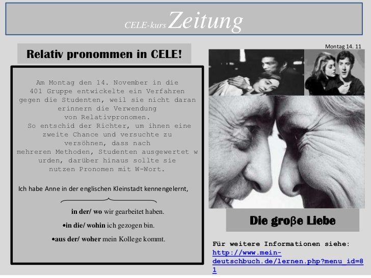 CELE-kurs        Zeitung                                                                                      Montag 14. 1...