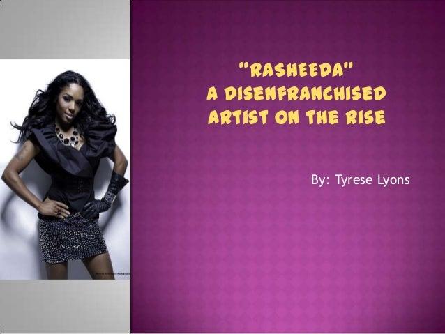 Rasheeda final