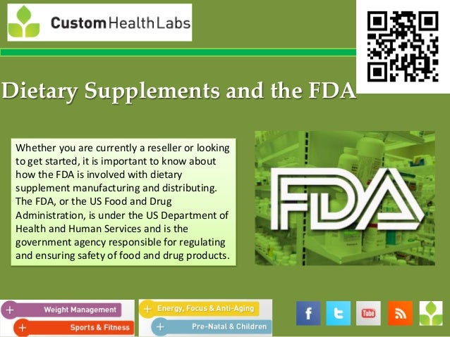 Dietary Supplements and the FDA Whether you are currently a reseller or looking to get started, it is important to know ab...