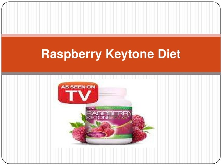Raspberry keytone diet presentation
