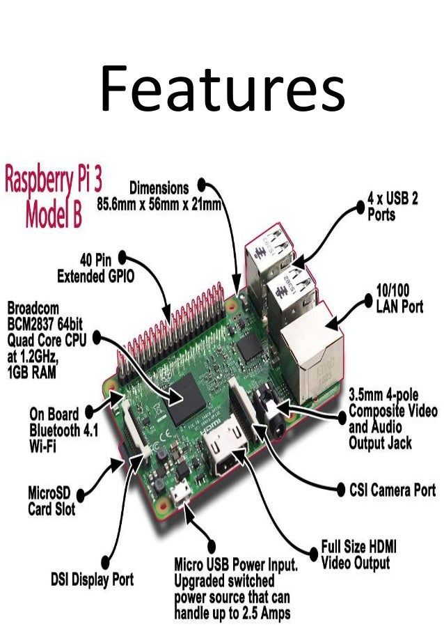 Buy raspberry pi 3 model b online india robomart for Raspberry pi 3 architecture