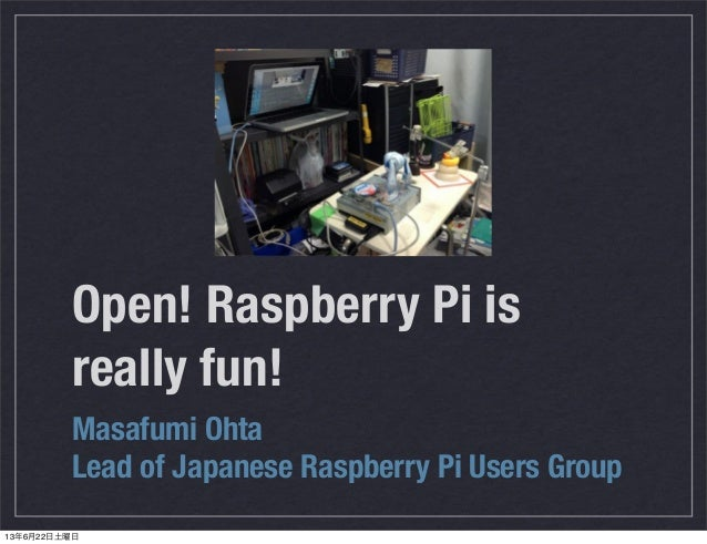 Raspberry pi for beginners 20130623 osc nagoya