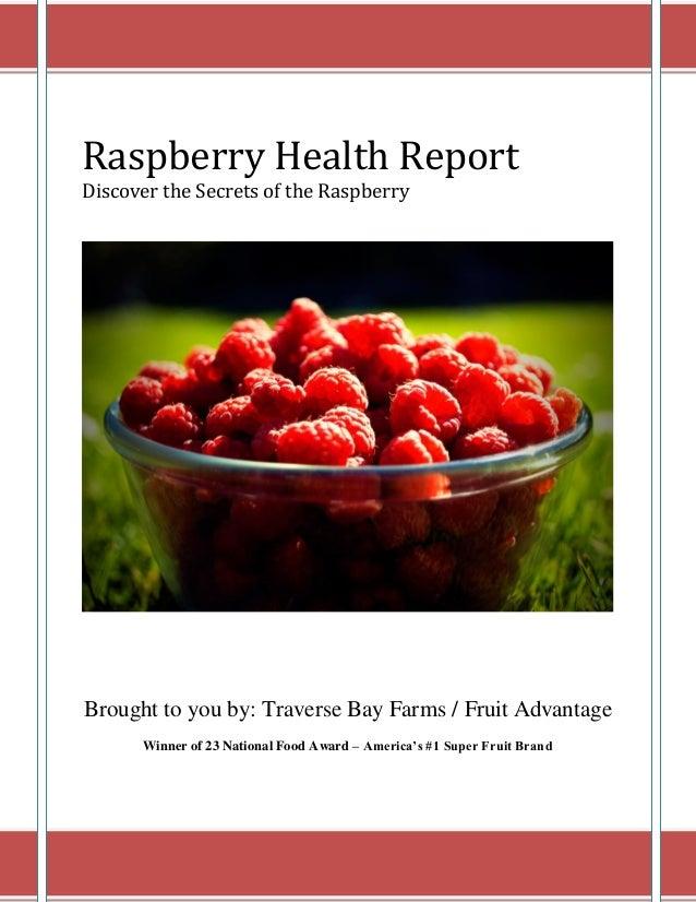 Raspberry Health Report