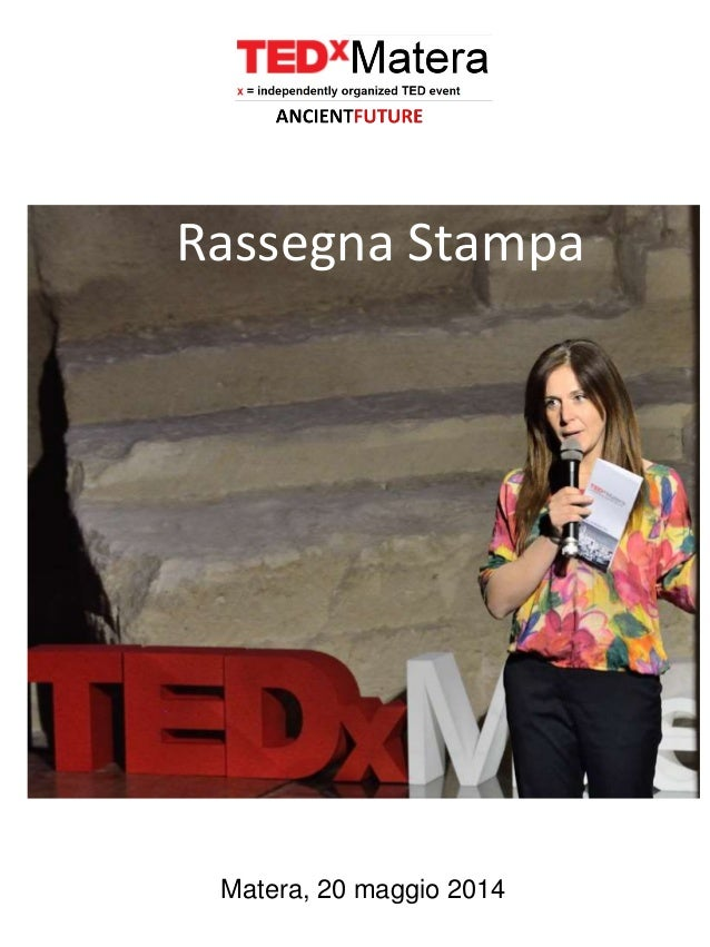 TEDxMatera Press Clipping