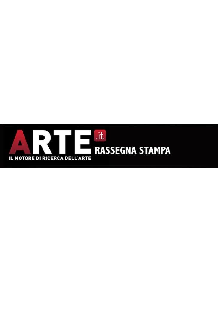 ARTE.it - Rassegna stampa
