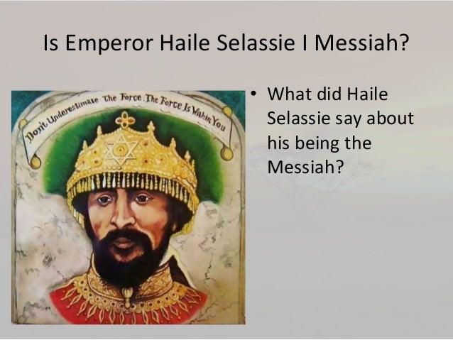 haile selassie emperor of ethiopia haile selassie was an ethiopian