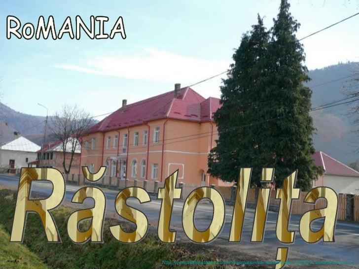 Rastolita Romania biserica 3
