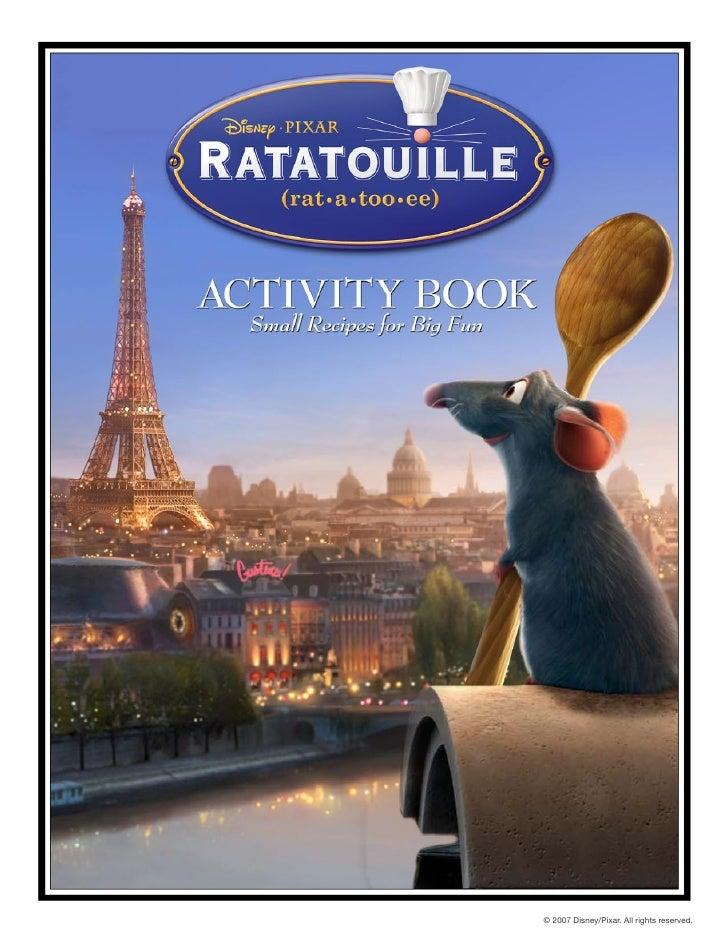 Ratatouille activity book-b(intl)
