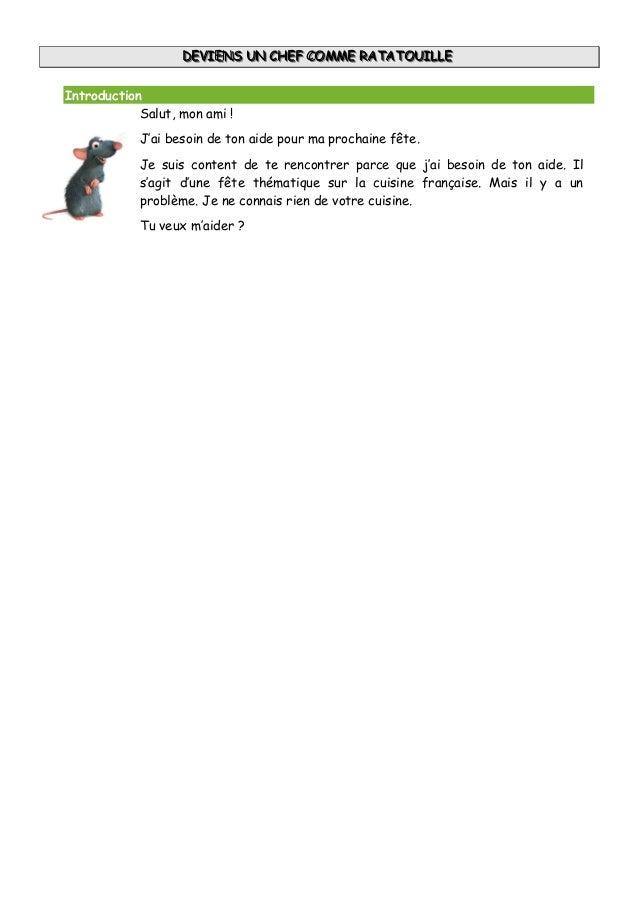Ratatouille      2ºeso