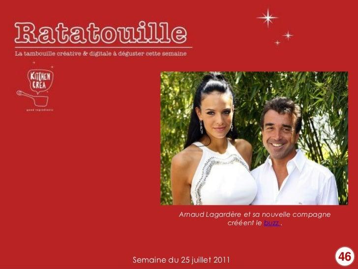 Arnaud Lagardère et sa nouvelle compagne                        crééent le buzz .Semaine du 25 juillet 2011               ...