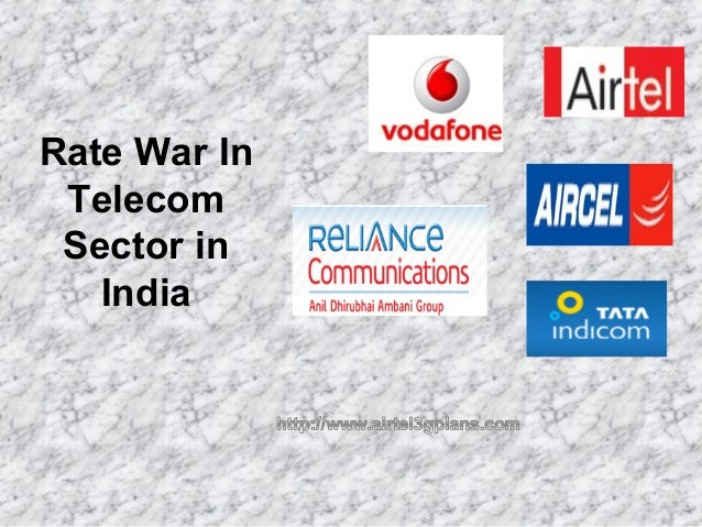 Rate War In Telecom Sector in India