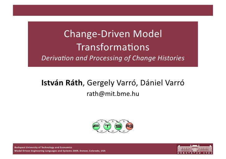 Change‐Driven