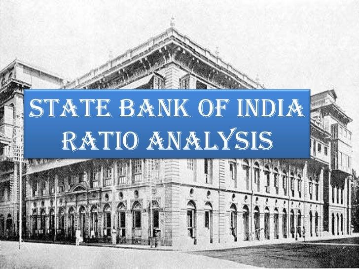 Ratio Analysis Of Sbi