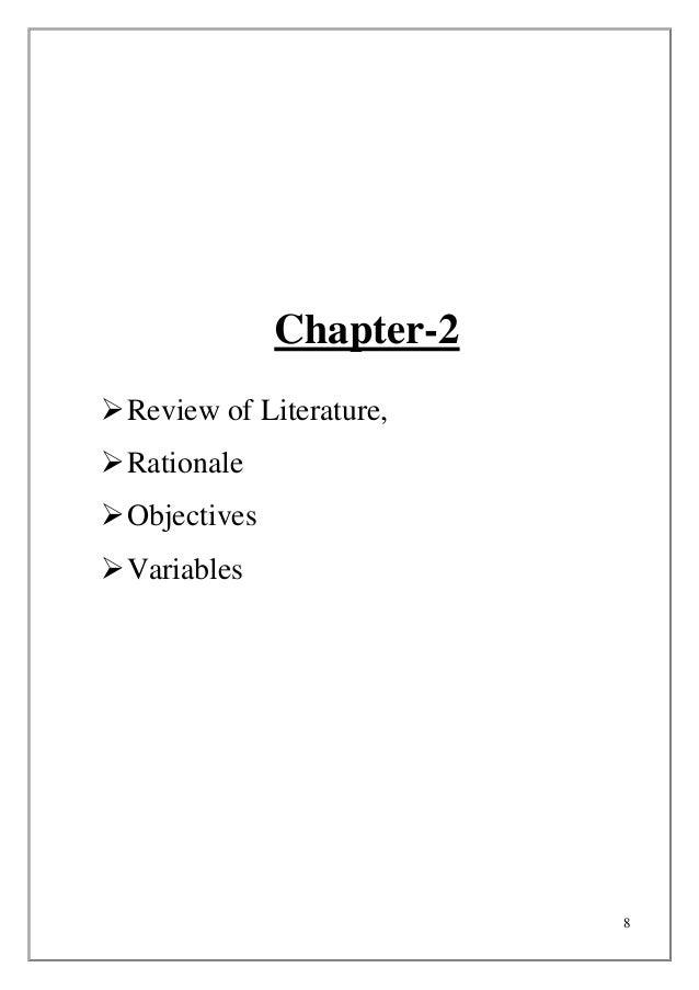 Review of literature on ratio analysis