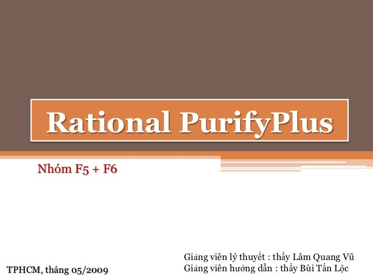 Rational purify plus